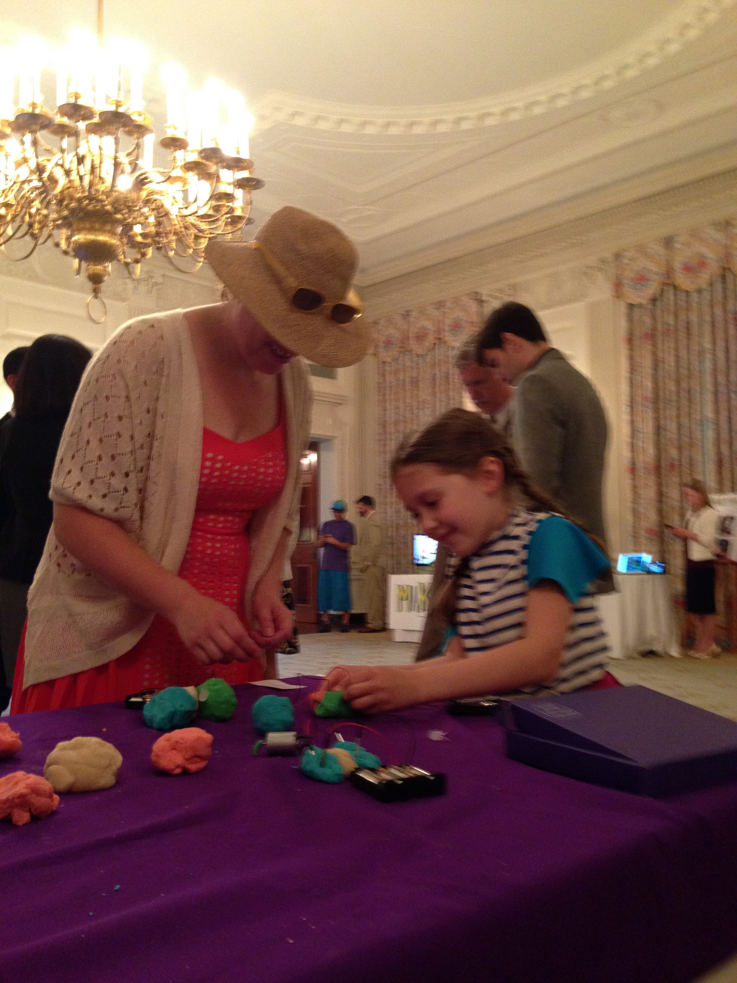 Annmarie Thomas Making Makers Playful Learning Lab Squishy Circuits Make Sage And I Were Also Interviewed By Magazine Which Ran A Post About Us As Many Of You Know Is Very Surprised To Often Find Herself The Only